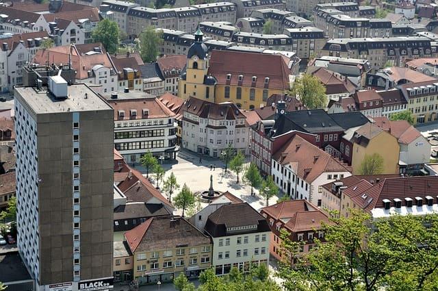 Робота для студентів у місті Сул та в Тюрингійському лісі